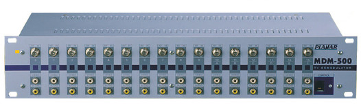 Демодулятор ПЛАНАР - телевизионный многоканальный МДМ-500