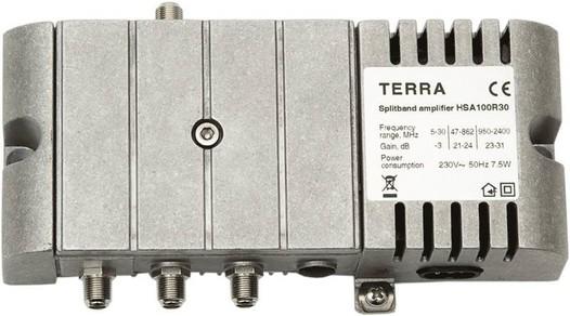 Усилитель спутникового сигнала телевизионный TERRA SA100