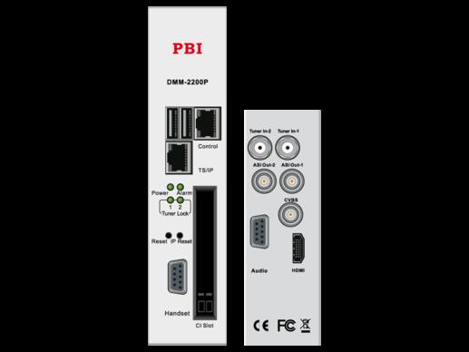 Кабельный приемник Twin IRD HD/SD с ASI-out/MUX/IP32 - DMM-2200P-С PBI