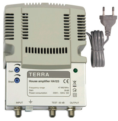 Усилитель домовой TERRA HA123