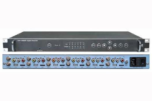 Профессиональный ресивер 6xDVB-S2 с 6x CI/HDMI/AV - DVR-3006AV-CIS2 PBI