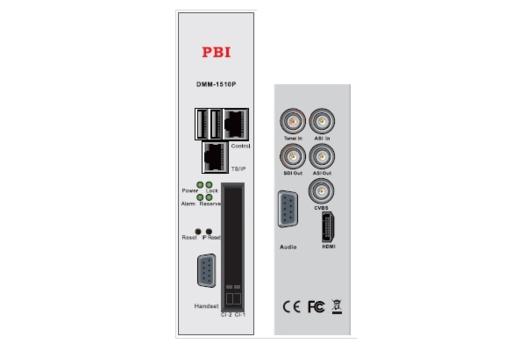 Профессиональный приемник IRD HD/SD с ASI/MUX - DMM-1510P-32X PBI