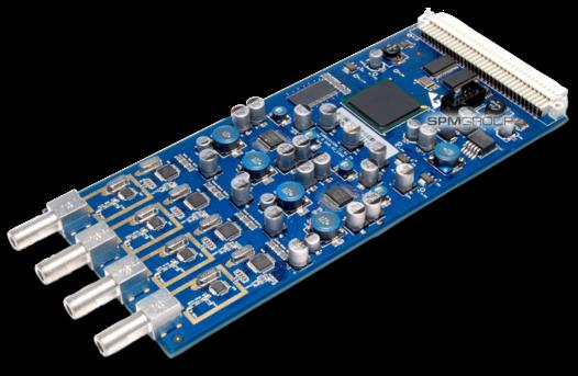 Карта 4xDVB-T/T2/C ресивер-демодулятор, без CI - C544