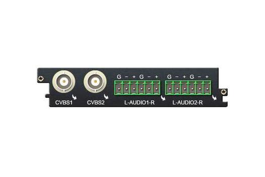 Карта двухканальный MPEG-2 SD кодер с аналоговыми входами - C101AS