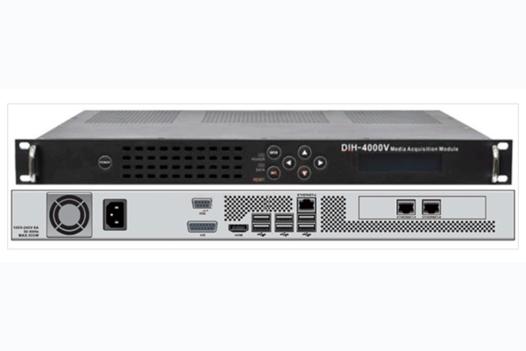 Кодер/транскодер низкобитрейтный MPEG-2/H.264 HD/SD с MUX/2xIP - DIH-4000V-IP PBI