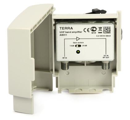 Домовой телевизионный усилитель TERRA AB011