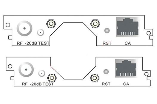 Карта 4-канальный DVB-T/T2 модулятор C508T