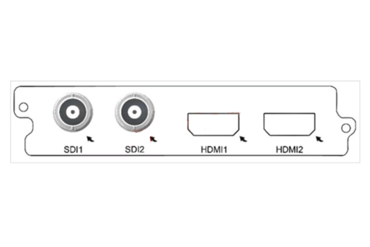 Карта двухканальный H.264 SD/HD кодер C150D