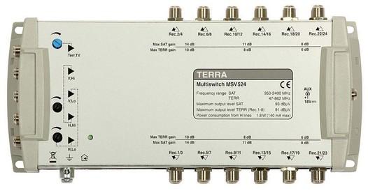 Мультисвитч спутниковый спутниковый TERRA MR524