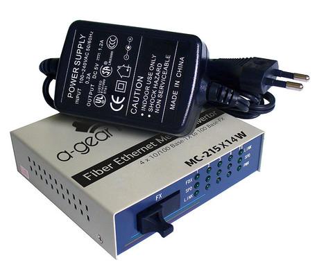 MC-215x14W Медиаконвертер