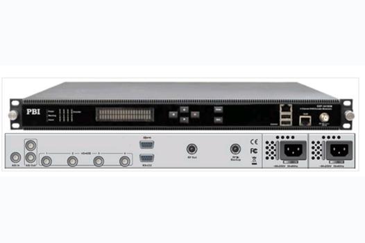 Кодер 4xH.264/HD/SD с 4xSDI/MUX/ASI/IP и модулятором DVB-C/T - DXP-5411EM-S PBI