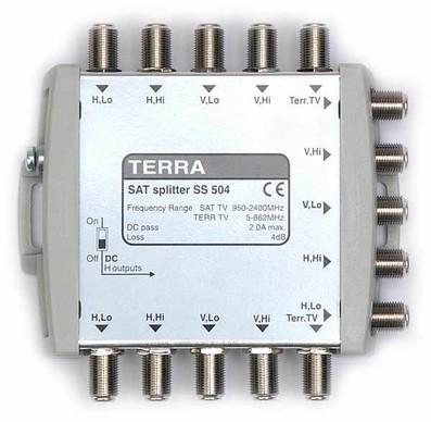 Делитель тв спутниковый на 2 TERRA SD504