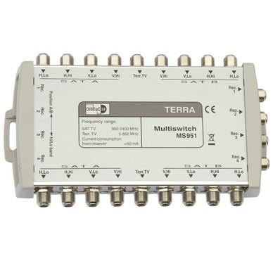 Мультисвитч спутниковый TERRA MS951