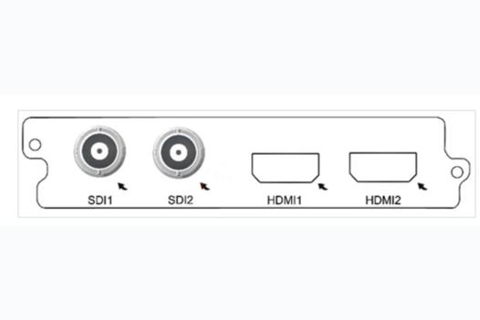 Карта двухканальный H.264 SD/HD кодер C150D Sumavision