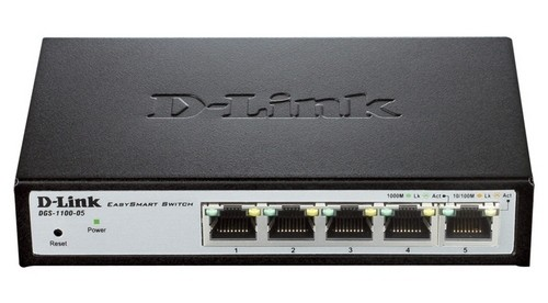 Коммутатор D-link DGS-1100-05/A1A