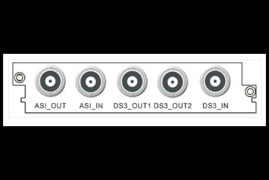 Карта ASI-DS3/E3 двунаправленного адаптера C416