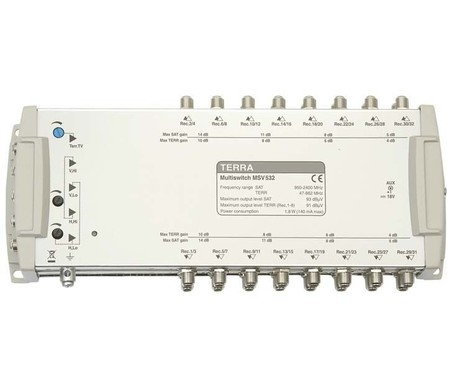Мультисвитч для спутникового телевидения TERRA MV532