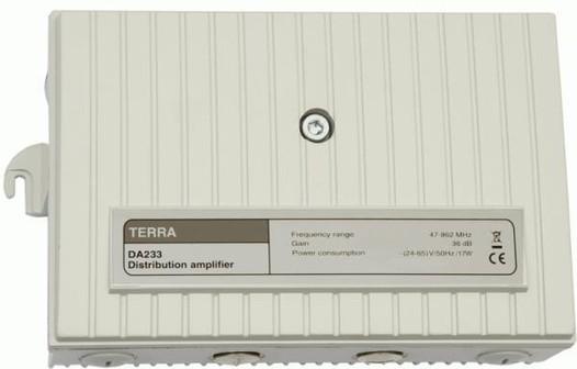 Усилитель магистральный DA233 TERRA