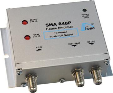 Домовые усилители повышенной мощности серии  SHA 848P