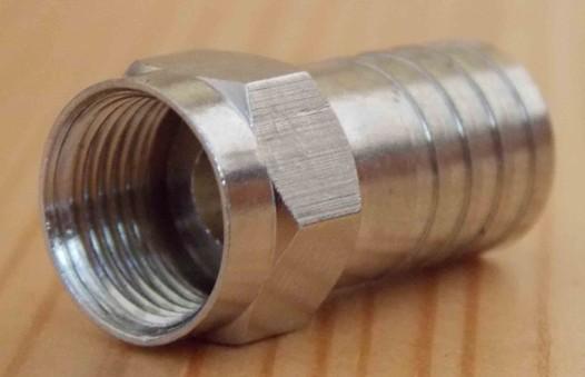 Разъем F-RG6 компрессионный