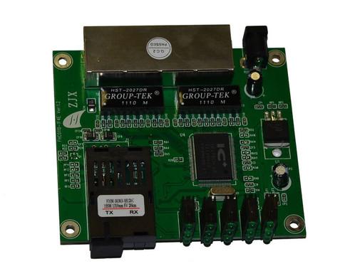 PCB-215x14W Медиаконвертер