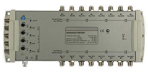 Мультисвитч для спутникового телевидения TERRA MV932L