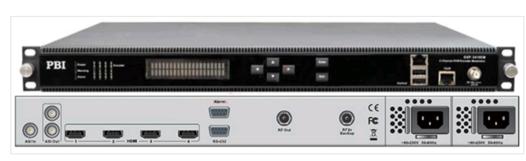 Кодер 4xH.264/HD/SD с 4xHDMI/MUX/ASI/IP,AAC и модулятором DVB-C/T - DXP-5410EM-H PBI