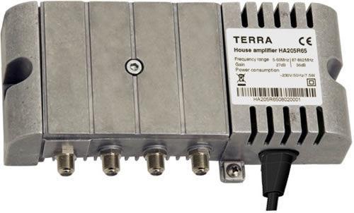 Домовой телевизионный усилитель TERRA HA208