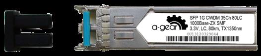 SFP+ 10G CWDM ZR 80km LC