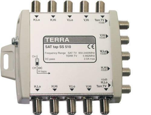 Ответвитель спутниковых каналов TERRA SD510