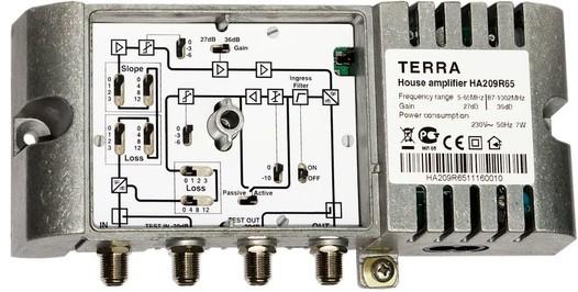Домовой телевизионный усилитель TERRA HA209