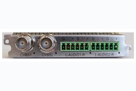 Карта двухканальный MPEG-2 SD кодер с аналоговыми входами - C101AS Sumavision