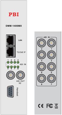 Мультиплексор с ASI/IP - DMM-1400MX-40 PBI
