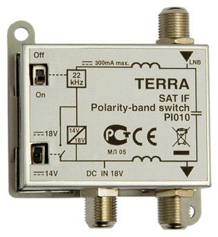 Переключатель спутниковой поляризации TERRA PI010
