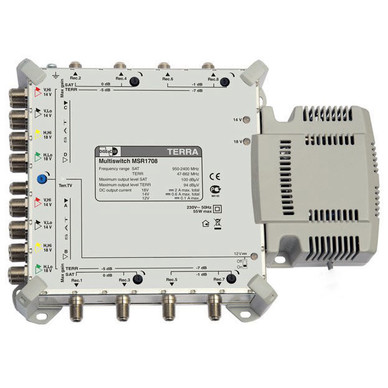 Мультисвитч спутниковый TERRA MSR1708