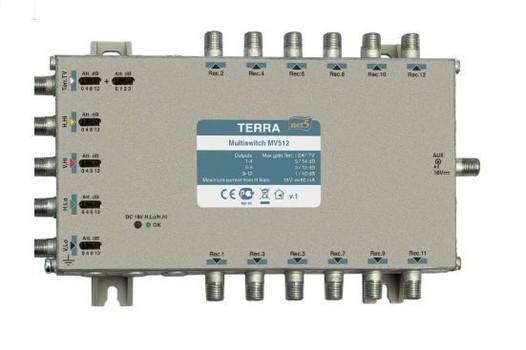 Мультисвитч для спутникового телевидения TERRA MV512