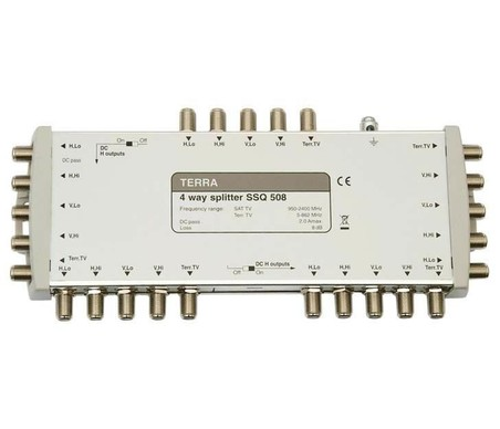 SDQ508 Делитель на четыре сигналов 4хПЧ и ТВ