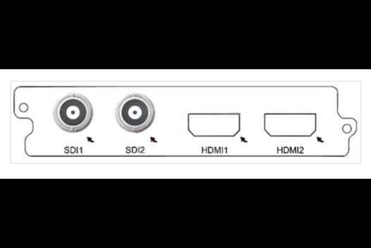 Карта двухканальный H.264 SD кодер C150D