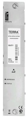 Трансмодулятор QPSK/8PSK/COFDM c CI - TDX311C TERRA