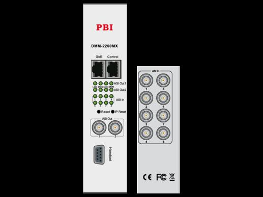 Мультиплексор 8-канальный с ASI/IP - DMM-2200DX