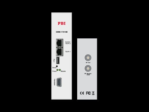 DVB/2xIP приемник IRD/cдвоенный аналоговый модулятор с 2xCI - DMM-1710PM-04X PBI