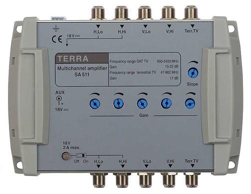 Усилитель спутникового сигнала телевизионный TERRA SA51D