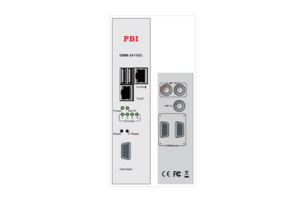 Кодер счетверенный H.264/HD/SD&MPEG-2/SD с 4xSDI/MUX/ASI/IP - DMM-2411EC-S PBI