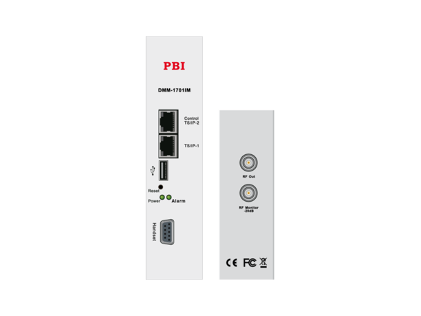 Эфирный приемник IRD/cдвоенный аналоговый модулятор с 2xCI - DMM-1701PM-04T2 PBI