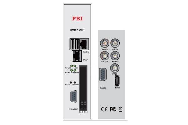 Профессиональный приемник IRD HD/SD с ASI/MUX - DMM-1510P-22X PBI