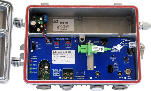 Приёмник оптический SMO 808 115 дБмкВ