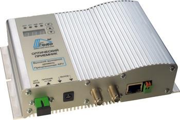 Приёмник оптический SHO 215A-E SNMP (SM500) 114дБмкВ