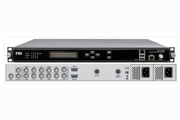 Кодер 4xMPEG-2/4/SD/HD с 4xSDI or HDMI/ASI/MUX/IP, AAC и модулятором DVB-C/T - DXP-4410EM PBI