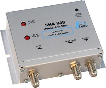 Широкополосные усилители серии SHA 848